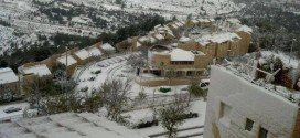 Gerusalemme con Neve Photo Credit Yoav Simon