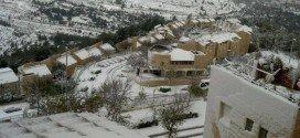 Neve in Medio Oriente: Gerusalemme è ancora più affascinante