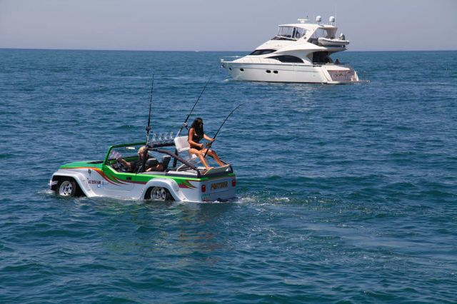 Vacanze mare in California pesca Watercar Panther