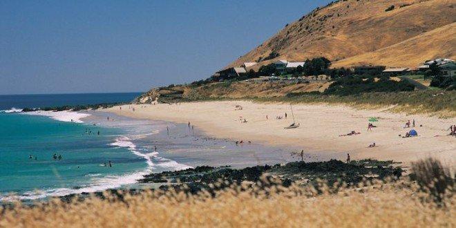 Australia Carrickalinga spiaggia
