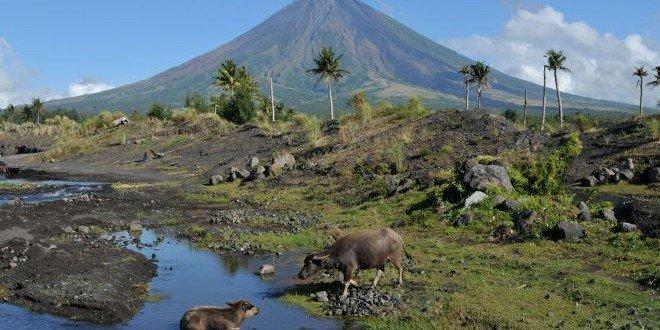 Filippine Mayon vulcano