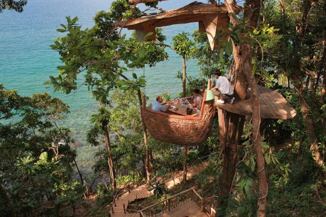 Ristorante albero Thailandia