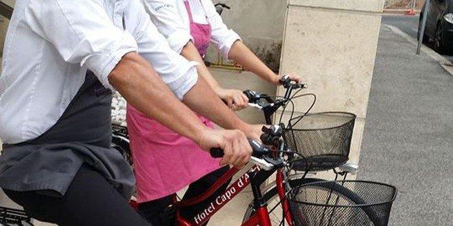 Roma in bicicletta Capo D'Africa Hotel