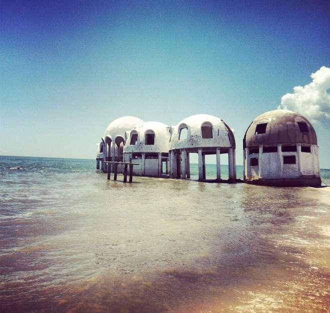 Isola disabitata Southwest Florida Usa