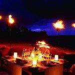 Mauritius Cena sulla spiaggia