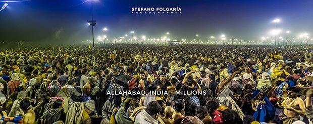 Maha Kumb Mela 2013, India.