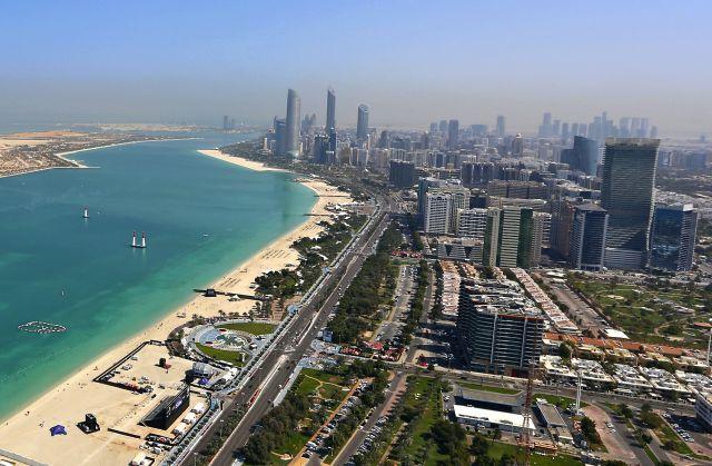 Abu Dhabi louvre e panorama