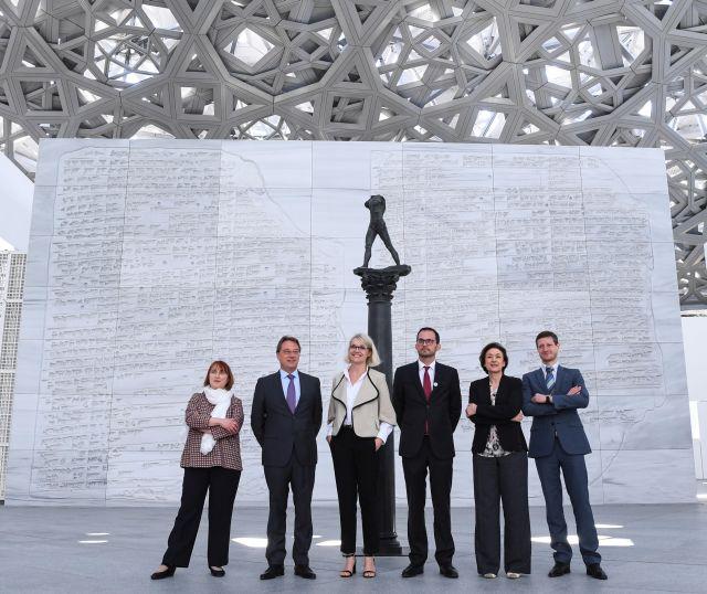 Louvre Abu Dhabi apertura mostra
