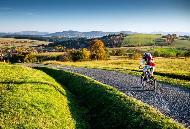 Polonia Repubblica Ceca bicicletta