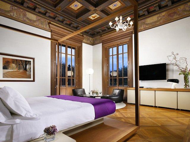 palazzo montemartini roma camera da letto