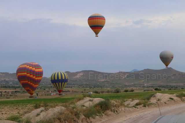 mongolfiere Turchia